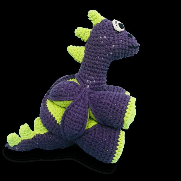 Atelier Nesh yapboz dinozor mor