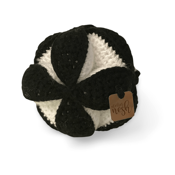 Atelier Nesh yapboz top siyah