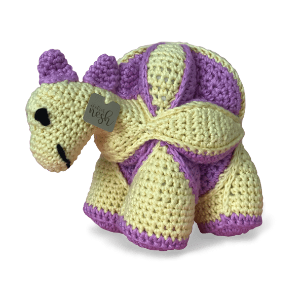 Atelier Nesh yapboz dinozor lila