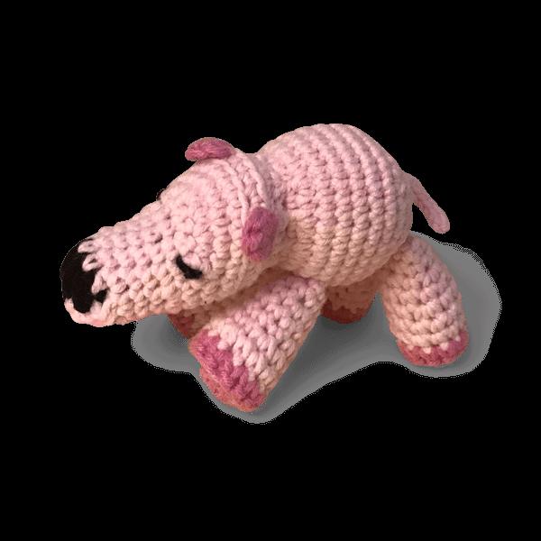 amigurumi oyuncak mini aslan
